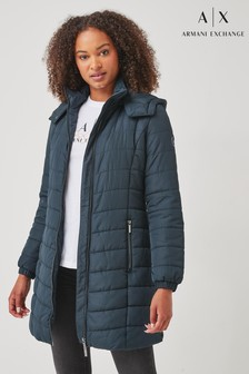 Armani Exchange Quilted Padded Jacket