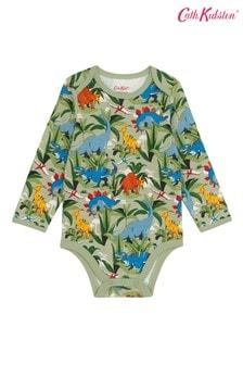 Cath Kidston® Dinosaur Jungle Envelope Neck Bodysuit