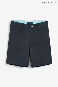 GANT Boys Blue Chino Shorts