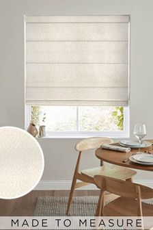 Tamsin Champagne Natural Made To Measure Roman Blind