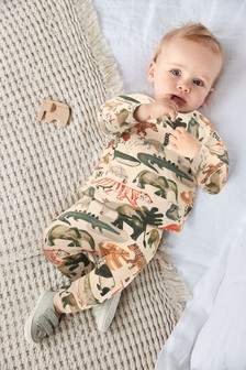 Multi GOTS Organic Animal T-Shirt and Legging Set (0mths-3yrs)