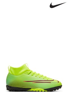 Nike Yellow Mercurial Superfly 7 Academy Dynamic Fit Turf Junior And Youth Football Boots