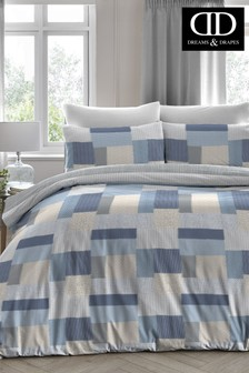 Boheme Square Geo Duvet Cover and Pillowcase Set by D&D