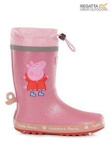 Regatta Pink Peppa Pig™ Puddle Wellies
