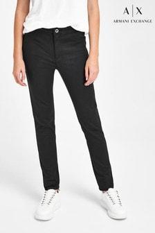 Armani Exchange Coated Skinny Jeans