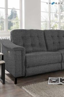 Slate Marlin Large Recliner Sofa by La-Z-Boy