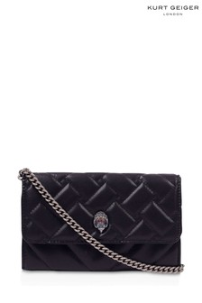 Kurt Geiger London Black Recycled Kensington Wallet