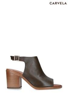 Carvela Comfort Khaki Alpha Heels