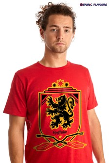 Fabric Flavours Red Men's Gryffindor Quidditch T-Shirt