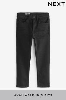 Black  Skinny Fit Jeans (3-16yrs)