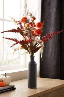 Artificial Flowers In Bottle