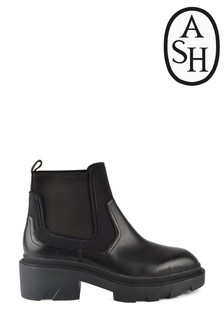 Ash Metro Black Chunky Chelsea Boots