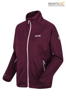 Regatta Purple Cinley II Softshell Hybrid Hoody