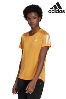 adidas Orange Own The Run T-Shirt