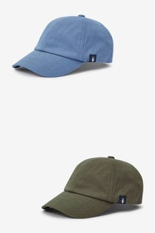 Blue/Green Caps Two Pack