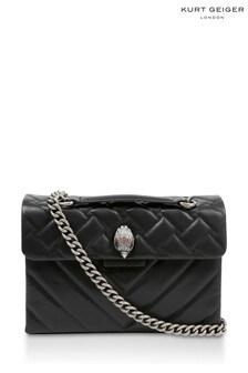 Kurt Geiger London Black Recycled Kensington Bag