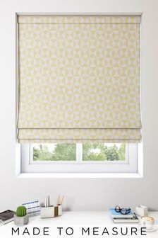 Monde Zest Gold Made To Measure Roman Blind