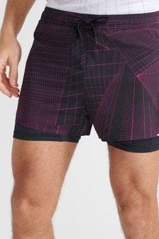 Superdry Sport Run Trail Shorts