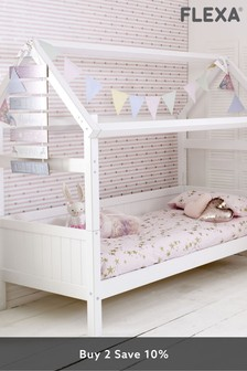 Nordic Playhouse Frame Single Bed By Flexa