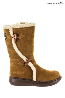 Rocket Dog Brown Slope Mid Calf Winter Boots