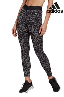 adidas All Over Print Animal High Waisted Leggings