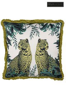 Riva Home Twin Leopard Cushion