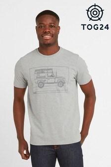 Tog 24 Grey Davenport Mens T-Shirt