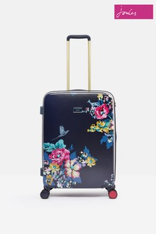 Joules Cambridge Floral Suitcase Medium