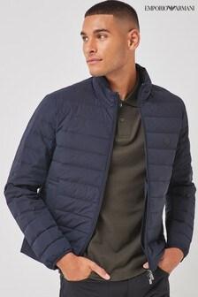 Emporio Armani Navy Padded Jacket