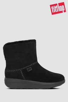 FitFlop™ Mukluk Shorty III Suede Ankle Boots