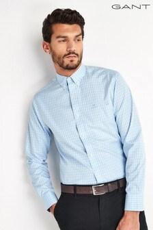 GANT Pinpoint Oxford Check Shirt