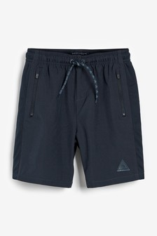 Navy Sports Shorts (3-16yrs)