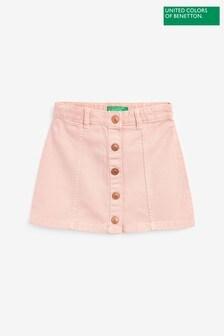 Benetton Pink Skirt