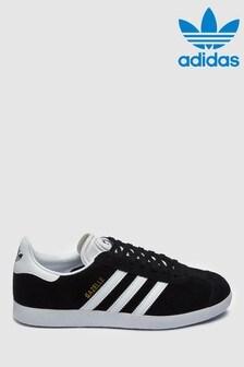 Black  adidas Originals Gazelle