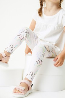 Pale Pink Miffy All Over Print Leggings (3mths-8yrs)