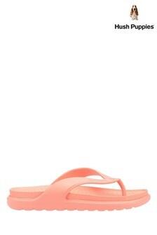 Hush Puppies Pink Bouncer Flip Flops