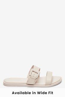 Bone Forever Comfort® Buckle Mules