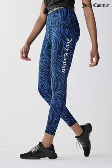 Juicy Couture Velour Printed Leggings
