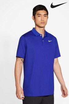 Nike Golf DriFIT Blue Victory Polo Shirt