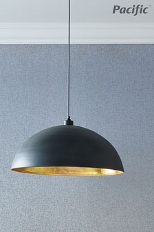 Anders Matt Metal Dome Pendant by Pacific