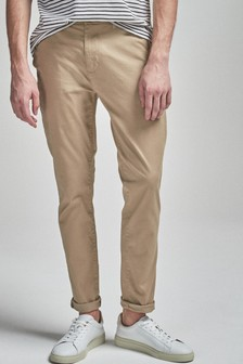 Wheat Skinny Fit Stretch Chinos