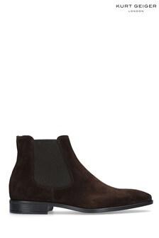 Kurt Geiger London Brown Frederick Boots