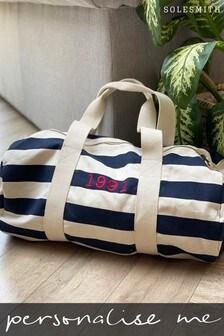 Personalised Duffel Bag by Solesmith