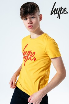 Hype. Yellow Sunset Double T-Shirt