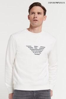 Emporio Armani Eagle Embroidered Sweater