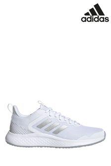 adidas White Fluidstreet Trainers