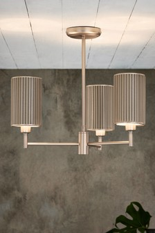 Jada 3 Light Semi Flush Fitting