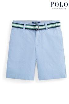 Ralph Lauren Blue Twill Shorts