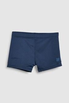 Navy  Stretch Shorts (3-16yrs)