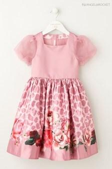 Angel & Rocket Pink Rose Animal Dress